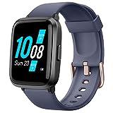 *YAMAY *Smartwatch amb *Oxímetro de Pols Esfigmomanòmetre i Pulsòmetre Rellotge Intel·ligent Impermeable per a Home Dona, Polsera d'Activitat Intel·ligent *podómetro amb Cronòmetre per a Android *iOS