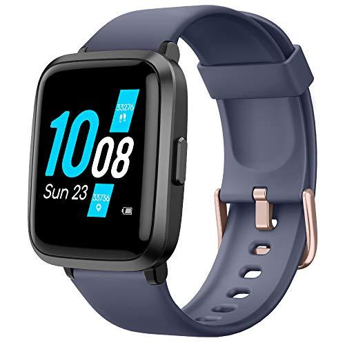 YAMAY Smartwatch con Oxímetro de Pulso Esfigmomanómetro y