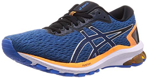 Asics Mens GT-1000 9 Running Shoe, Electric Blue/Black, 43.5 M EU