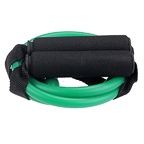 BlueBeach® Widerstand Typ der Fitness-Band D – Gym Yoga Muskeln Training Übung elastische Ausrüstung Training Tube Seil Kabel Stretch Mode Werkzeugkörper (zufällige Farbe) - 3