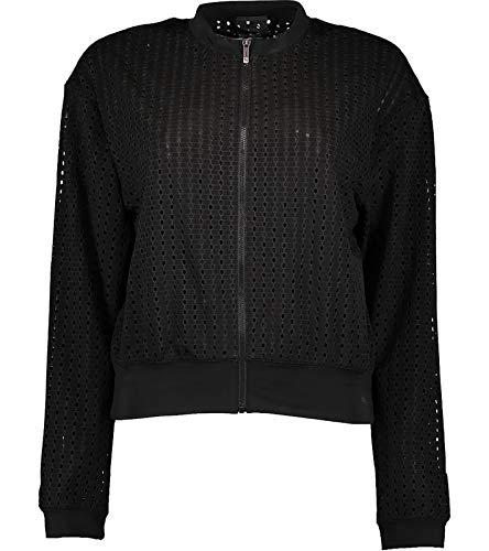 PUMA Damen Luxe Jacke, Schwarz (Puma Black), 36