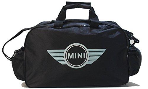 M-ini Cooper Logo Sports Bag, Lightweight Duffel Bag, Travel Duffel, Weekend, Overnight Bags for Travel, Sports, Gym, Holidays