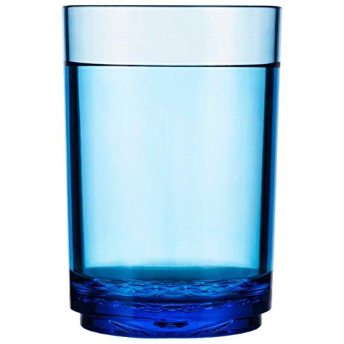 Drinique Elite pinta 16oz vaso–Tritan sin BPA de irrompible bebida Gafas–PREMIUM de plástico vaso, fabricado en Estados Unidos