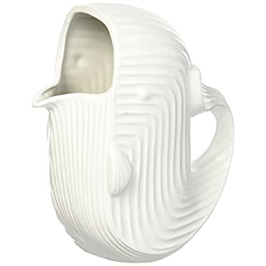 Jonathan Adler Women's Whale Pitcher, White, One Size
