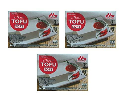 Pamai Pai® Dreierpack: 3 x 340g Soft Tofu Weicher Seifentofu für vegane vegetarische Küche