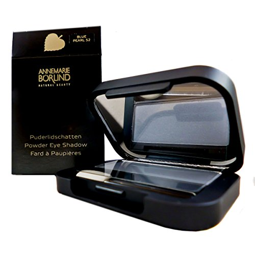 Annemarie Börlind Powder Eye Shadow 52 blue pearl, 1er Pack (1 x 2 ml)