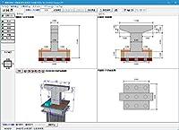 橋脚の設計・3D配筋(部分係数法・H29道示対応) Ver.4(初年度サブスクリプション)