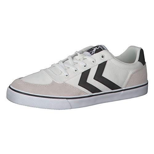 Hummel - Zapatillas de deporte para adultos (Low Stadil Low OGC 3.0), color Blanco, talla 36 EU