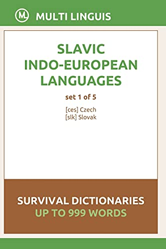Compare Textbook Prices for Slavic Languages Survival Dictionaries Set 1 of 5  ISBN 9798748647205 by Linguis, Multi