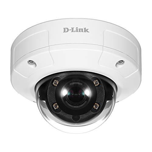 D-Link DCS-4602EV Telecamera Dome, PoE, Full HD, Antivandalica per Esterni, Gamma Vigilance
