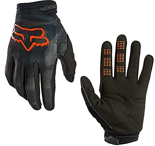 Fox 180 Glove Fahrrad MTB Ebike Rennrad Langfinger Handschuhe Trev Schwarz Camo, XL