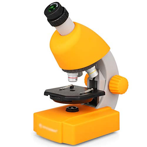 WOGQX Kids Microscope with 40-640X, Microscope for Students Beginner with LED Light, Phone Holder, Science Experiment Kits, Best for Kids