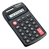Dados Técnicos: Tamanho: 68 x 106 x 19mm Peso: 50 g Memória e desligamento automático Calculadora eletrônica de bolso com 8 dígitos; possui visor LCD