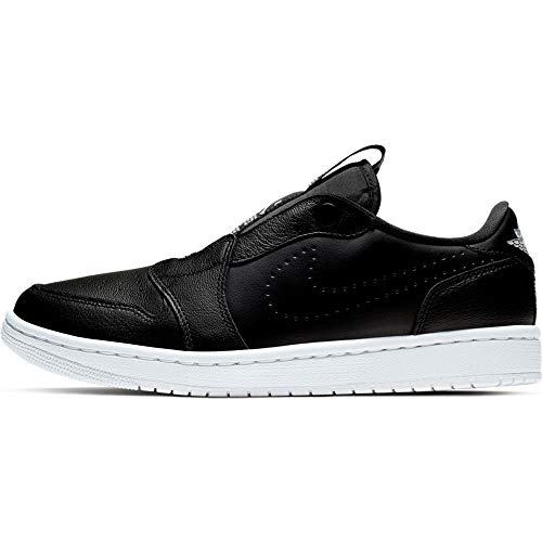 Jordan Wmns 1 Ret Low Slip, Zapatillas de Deporte Hombre, Negro (Black/White 000) X-Ancho, X-Large EU