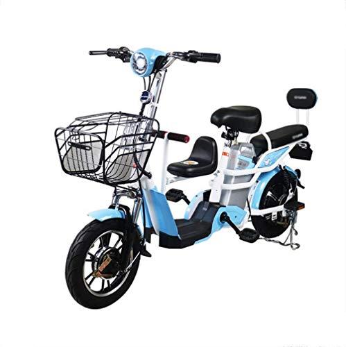 Bicicleta Eléctrica 48V Batería De Litio Extraíble Pedal Eléctrico Neumático Sin Cámara...