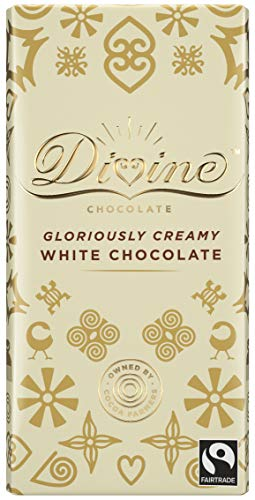 Divine White Chocolate Bar, 90g