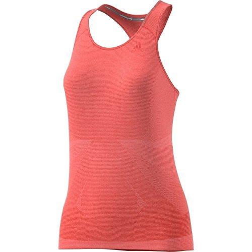 adidas SN TNK W Camiseta sin Mangas, Mujer, Naranja (Corsen), M