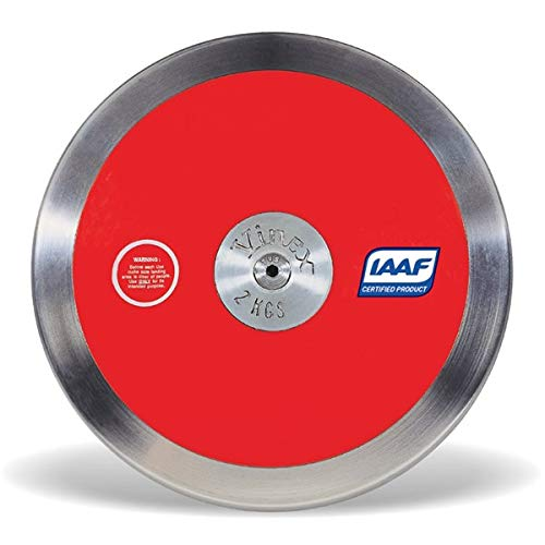 75/% Rim Weight 4Throws 1 KG Discus ⦿ Training Ready ⦿ IAAF Certified ⦿ Girls Track and Field