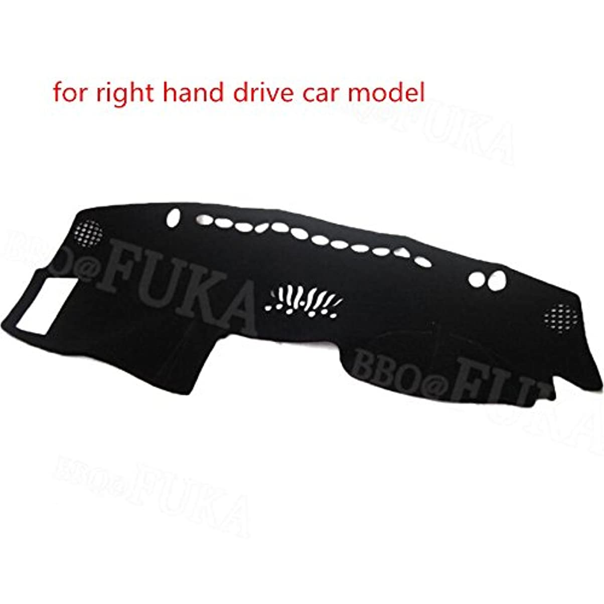 台風銀河実業家Jicorzo - Car Dashboard Dash Mat Dashmat Cover Car Part Styling Pad Fit for Nissan Infiniti FX35 FX45 FX50 RHD And LHD 2003-2008 [Black]