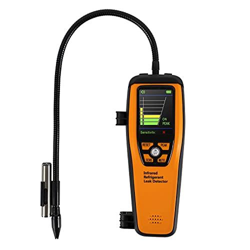 Elitech Detector Halógeno de Refrigerante Avanzado para HVAC CFC Recargables HCFC HFC 10 años de Vida ✩3 años de Garantía✩ (ILD-200)