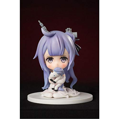 VENDISART Anime Game Figure Toys Azur Lane HMS Unicorn Cute Q Version PVC Action Figure Toys Collection Model Doll Gift 10cm