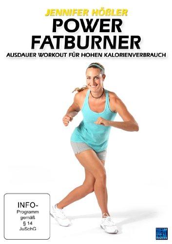 Jennifer Hößler: Power Fatburner - Ausdauer Workout für hohen Kalorienverbrauch