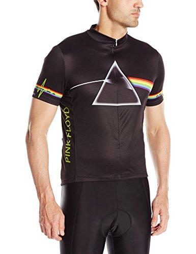 Primal Wear Men's Pink Floyd Dark Side of The Moon Jersey, Large, Black