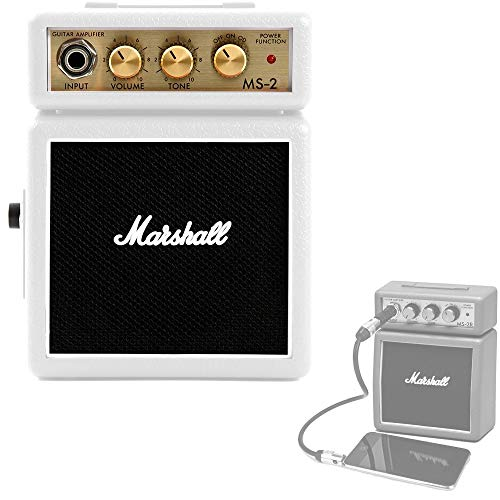 Amplificador Guitarra Marshall Mini 2w Blanco a Pilas