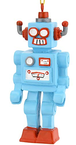 Tree Buddees Retro Toy Robot Unique Christmas Ornament