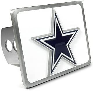 NFL Dallas Cowboys 3D Logo Metal Trailer Tow Hitch Cover