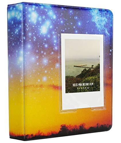 Yosuny 64 Tasca Album per Fujifilm Macchina Fotografica Mini 11 Mini 9 8 7s 25 50s 70 90, Polaroid Snap,PIC-300, Kodak Mini,3 Pollici Album Fotografico