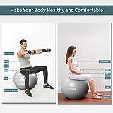 Zoom IMG-2 wotek palla da ginnastica fitness