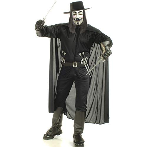 Rubie's- v per Vendetta Costume per Adulti, unica, IT888238-STD