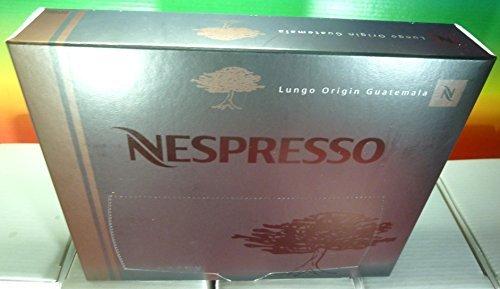 Nespresso Lungo Origin Guatemala PRO COFFEE 50 Capsules (for Gemini , Zenius , Aguila Coffee Machines) New by Nespresso