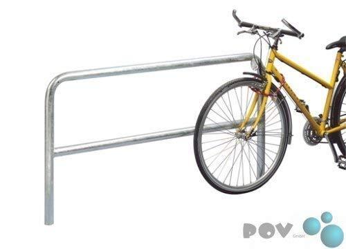 POV® fiets-aanleunbeugel 9210, lengte 100 cm, om in beton te zetten