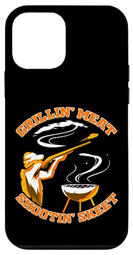 iPhone 12 mini Skeet Shooting Grillin' Meat Trap Shooting Clay Pigeon Case