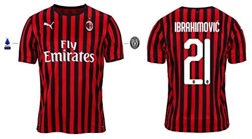 AC Mailand Trikot Herren 2019-2020 Home Serie A - Ibrahimovic 21 (M)