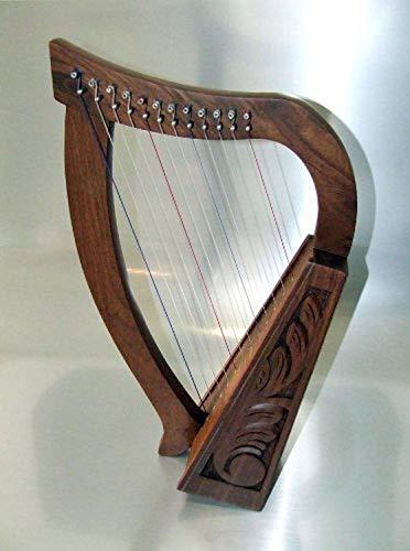Uzman-Versand Keltische Kinder Harfe 12 Saiten HARFE HARP ARPE