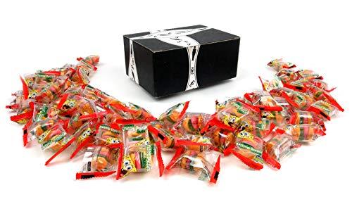 SpongeBob SquarePants Gummy Krabby Patties Candy, 5.7 oz Bags in a BlackTie Box (Pack of 3)