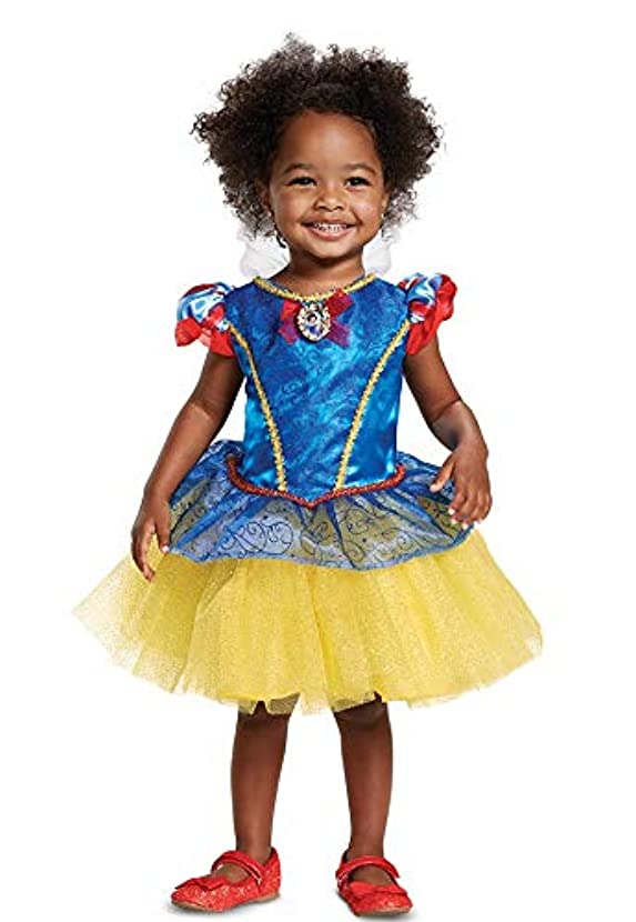 Disney Baby Infant Toddler Girls Snow White Tutu Dress Costume Size 12-18 Months