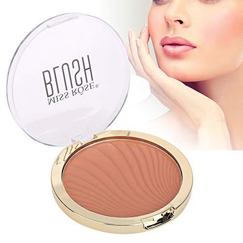 Miss Rose Blush Kosmetik, natürliches Teakholz, wasserfeste einfarbige Kosmetik und lang anhaltendes Make up für das Gesicht (04#)