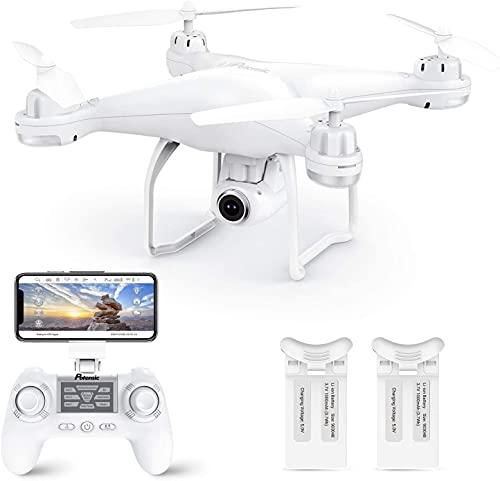 Potensic Drone GPS con Telecamera 1080P Drone T35 Dual GPS con...