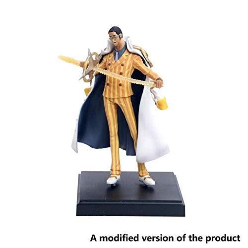XXSDDM-WJ One Piece: Kizaru Borsalino One Piece (Modelo estático) Alto 23CM (9 Pulgadas)-5