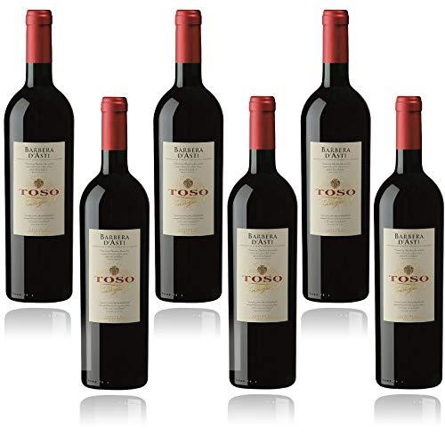 Toso S.p.a Toso Vino Rosso Barbera D'Asti DOCG, Piemonte, 6 bottiglie, 6 x 750ml