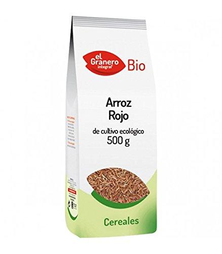 GRANERO ARROZ Rojo Bio 500 gr, Negro, Estandar