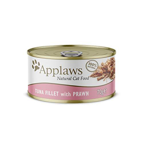 Applaws Cat Tin 24X70g Tuna with Prawn