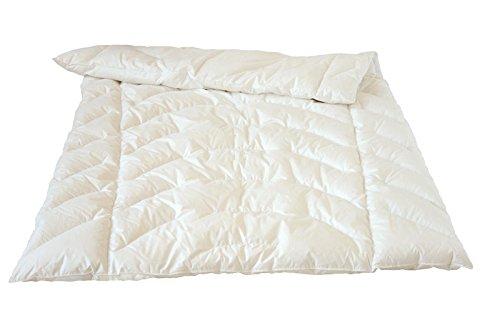 Traumina Novis Body donsdekbed voor het hele jaar licht winterdekbed 200 x 200 cm dons