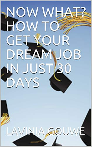Book: NOW WHAT? HOW TO GET YOUR DREAM JOB IN JUST 30 DAYS by Lavinia Gouwe