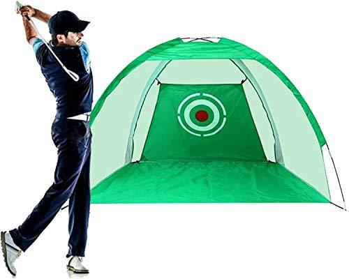 Qdreclod Golf-Übungsnetz Golf Schlagnetze Golf Trainingsnetz für Hinterhoffahren Indoor Outdoor Golfschlagnetze Golfübungsnetz mit Golf-Trainingshilfe
