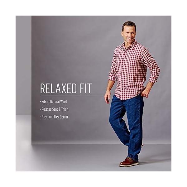 Wrangler Authentics Men's Big & Tall Classic 5-Pocket Relaxed Fit Flex Jean